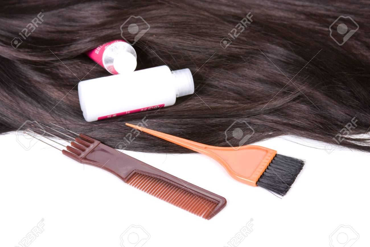 beautiful shiny healthy style hair Stock Photo - 5746208
