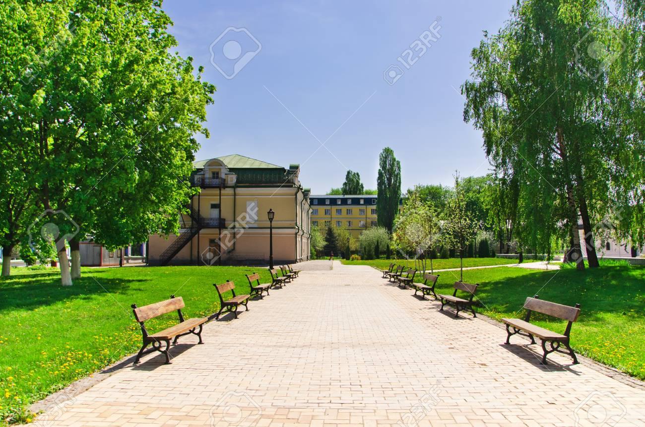 walkway to the monastery of St Michael Stock Photo - 13512936