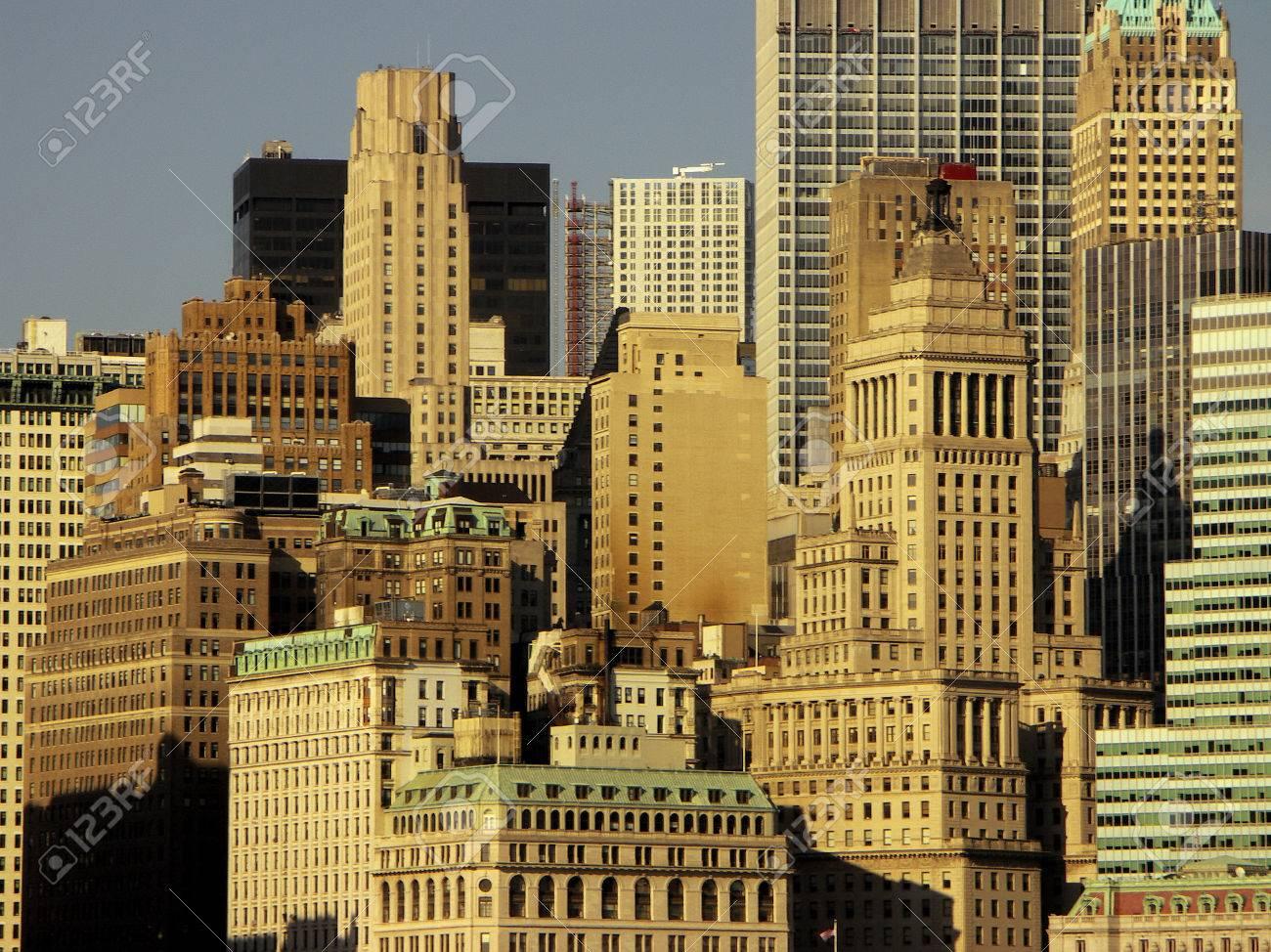 foto de archivo nueva york rascacielos edificios