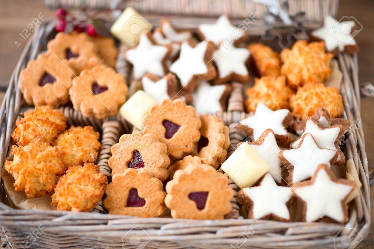 German Christmas Cookies.German Christmas Cookies