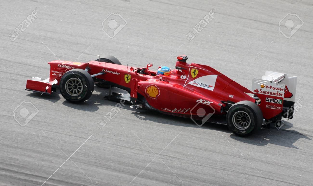 Circuito Fernando Alonso : Sepang malasia 23 de marzo: fernando alonso de la escudería