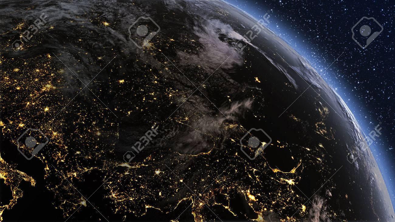 Highly Detailed D Render Using Satellite Imagery NASA Planet - Detailed satellite imagery