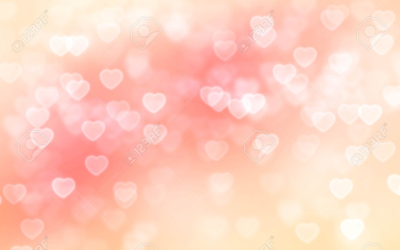 peach color heart shaped bokeh background stock photo picture and royalty free image image 52868183 peach color heart shaped bokeh background