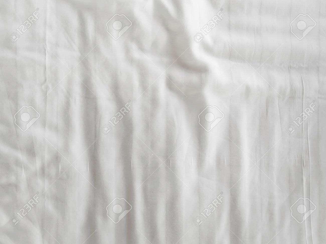 White bed sheets texture - White Fabric Bedsheet Texture Background Stock Photo 58795029