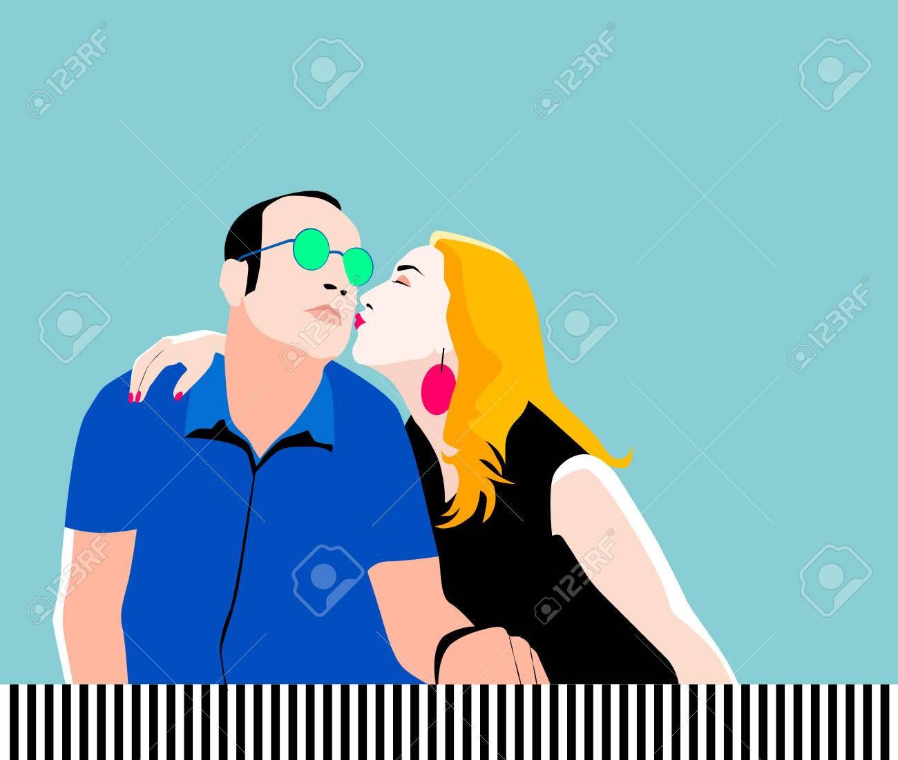 Dating-Vektorgrafik Datierung eines ehemaligen Marinesiegibes