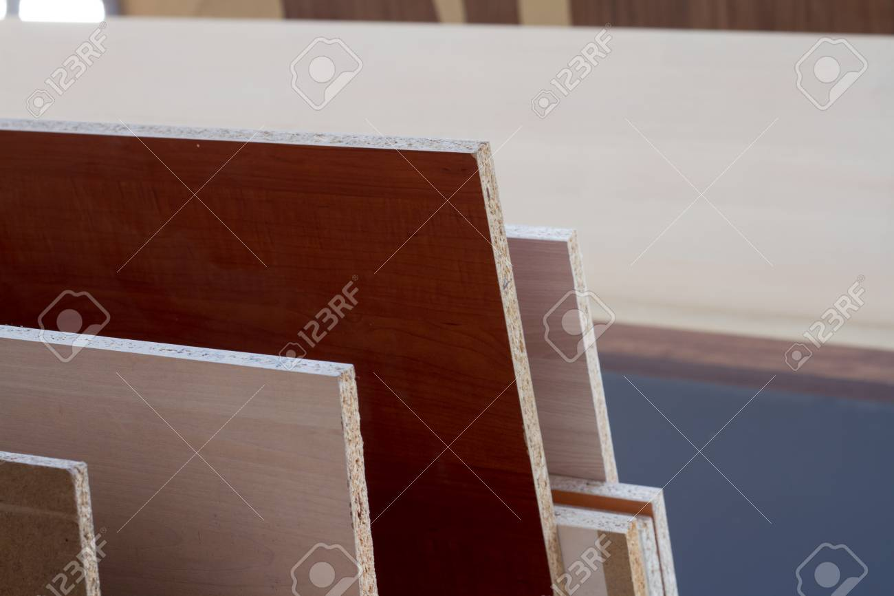 Mdf Particle Board Wood Panels Of Different Thicknesses And