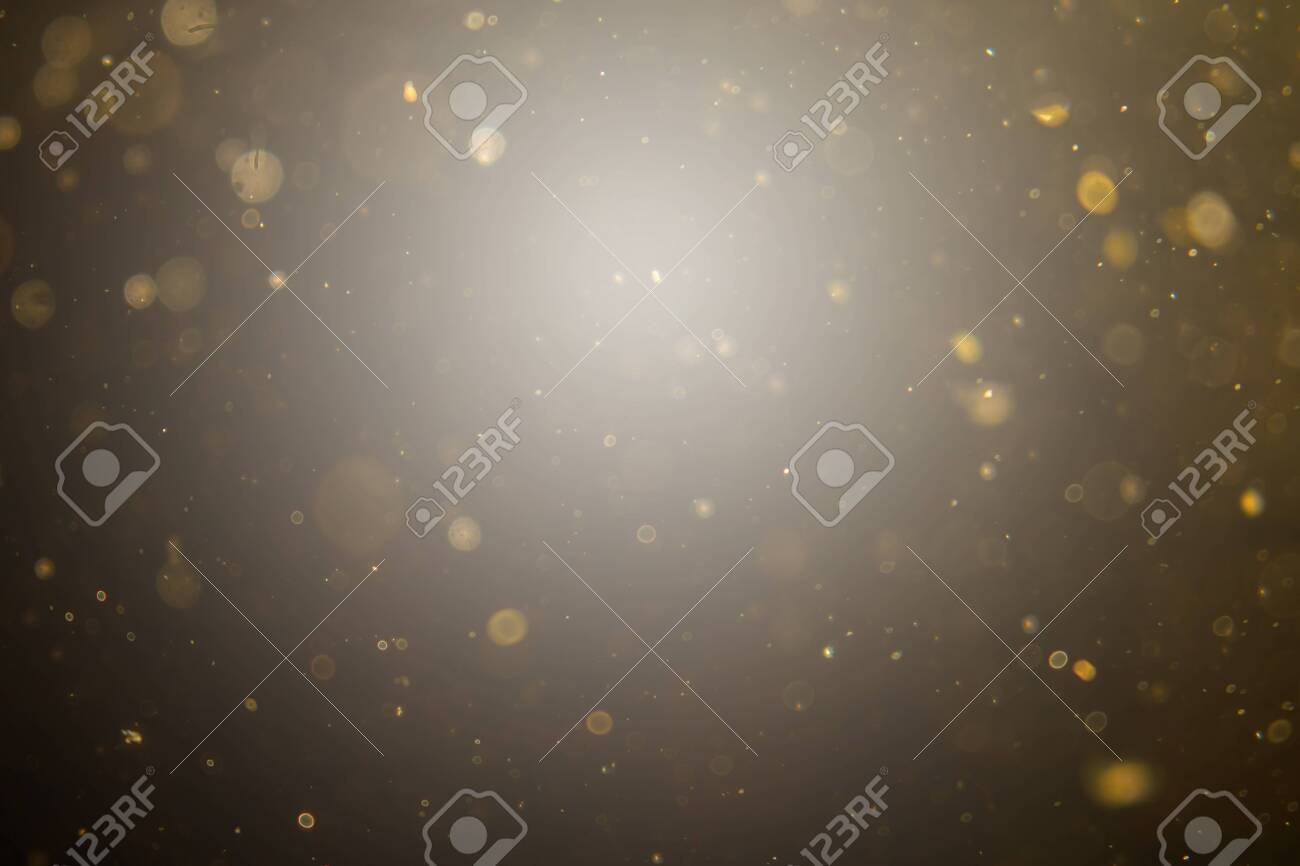 Abstract black bokeh use for background - 136166383