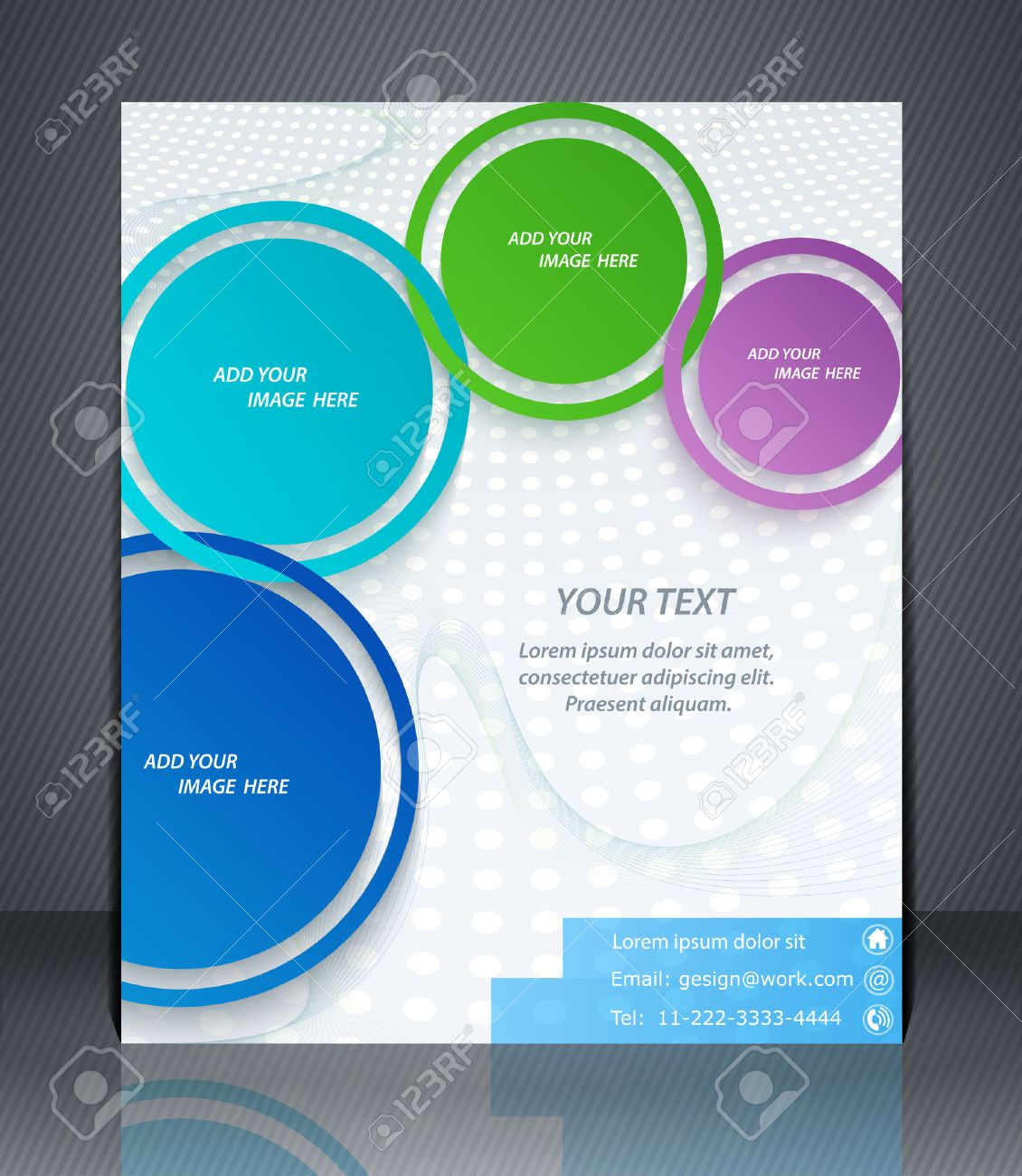 layout business flyer magazine cover or corporate design layout business flyer magazine cover or corporate design template advertisment stock vector 27776113