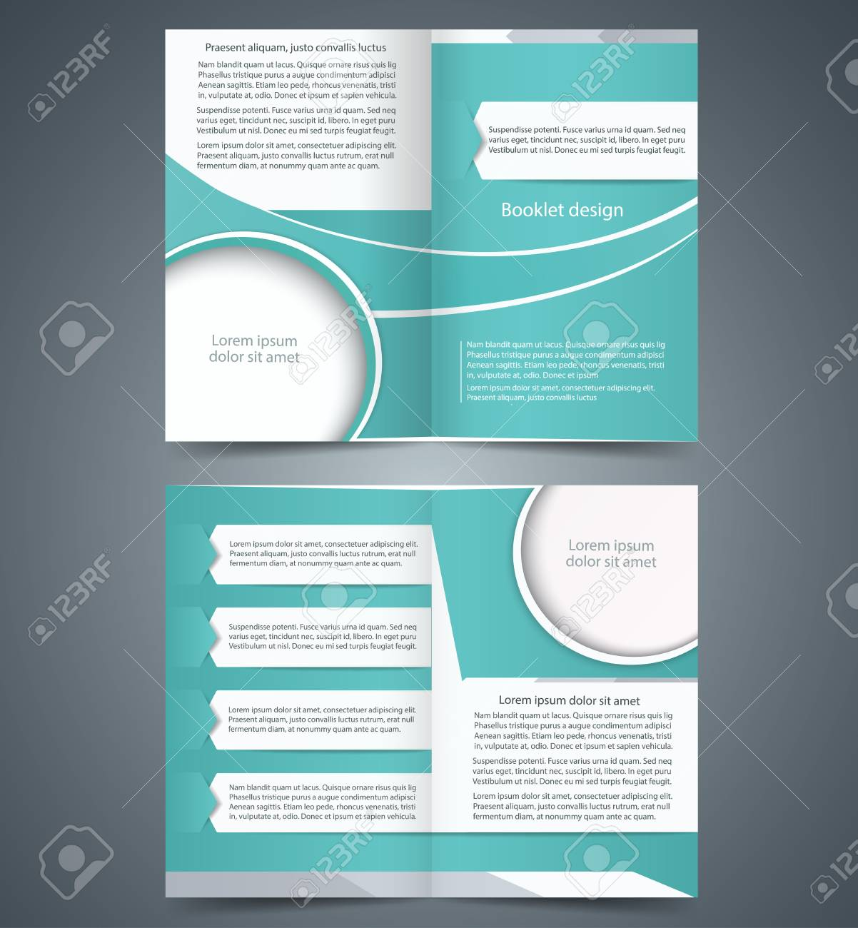 gray brochure template design layout business brochure flyer