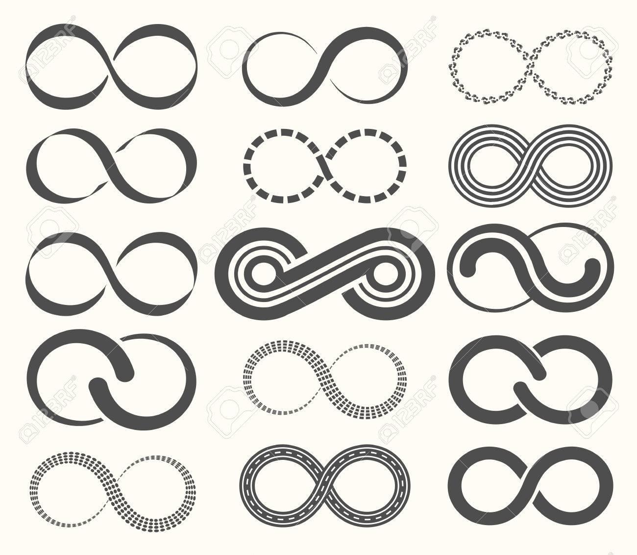 Symbole De Linfini Défini 15 Signes De Léternité Clip Art Libres