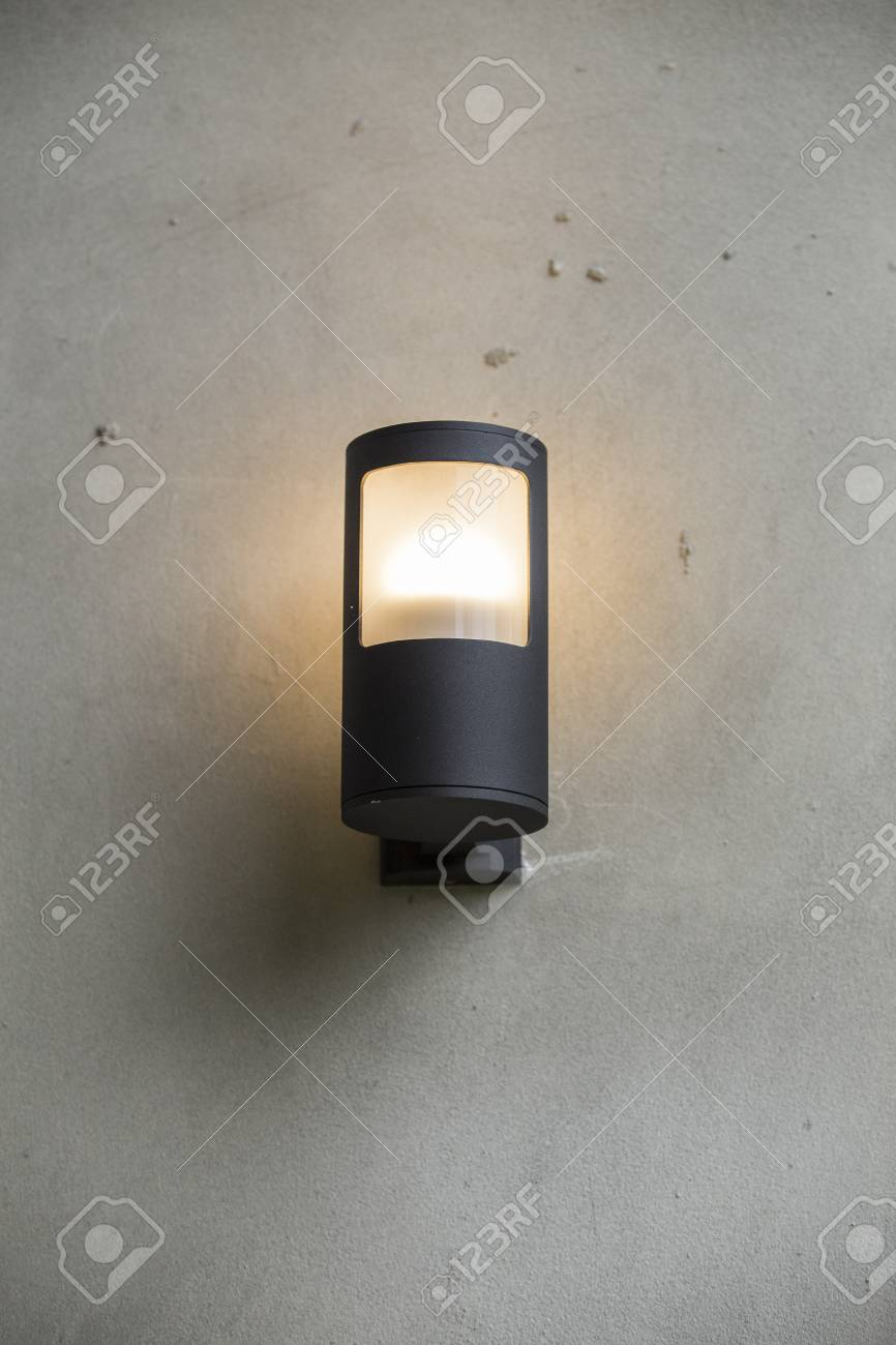 Lamp on wall Stock Photo - 23138835
