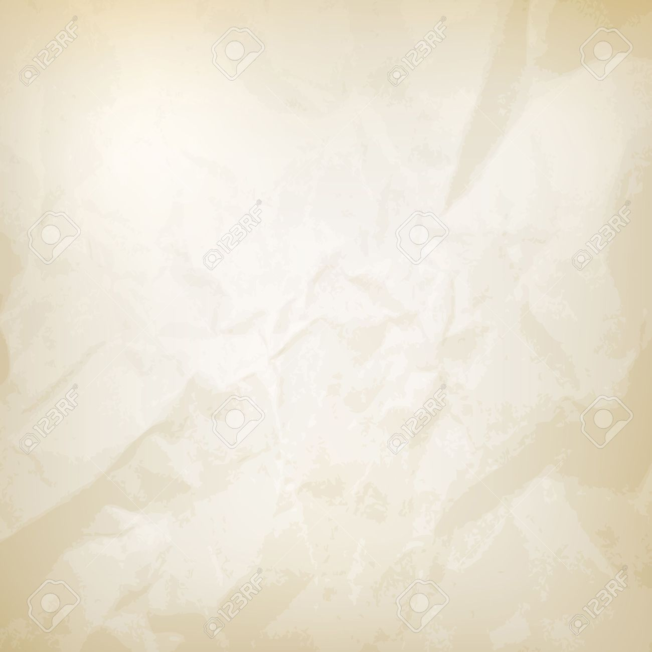 wrinkled paper texture vector illustration. saved in eps 10 file