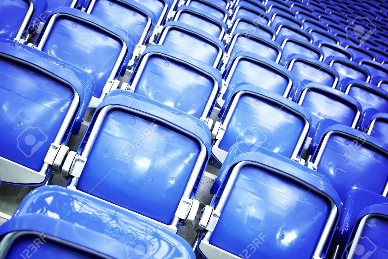 Empty stadium seats Stock Photo - 8766764