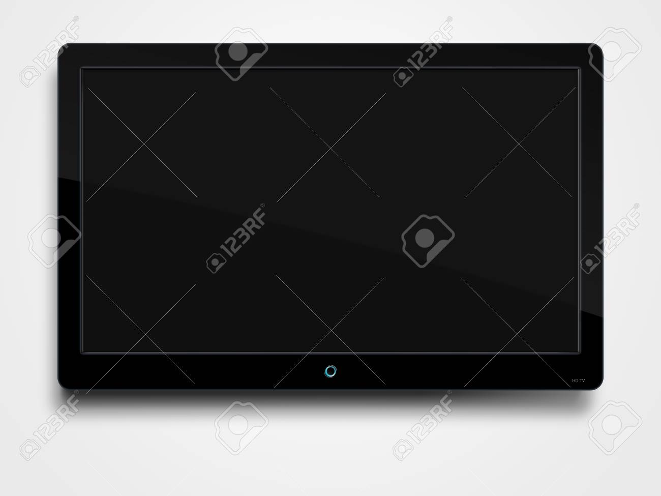TV on a wall Stock Photo - 8766746