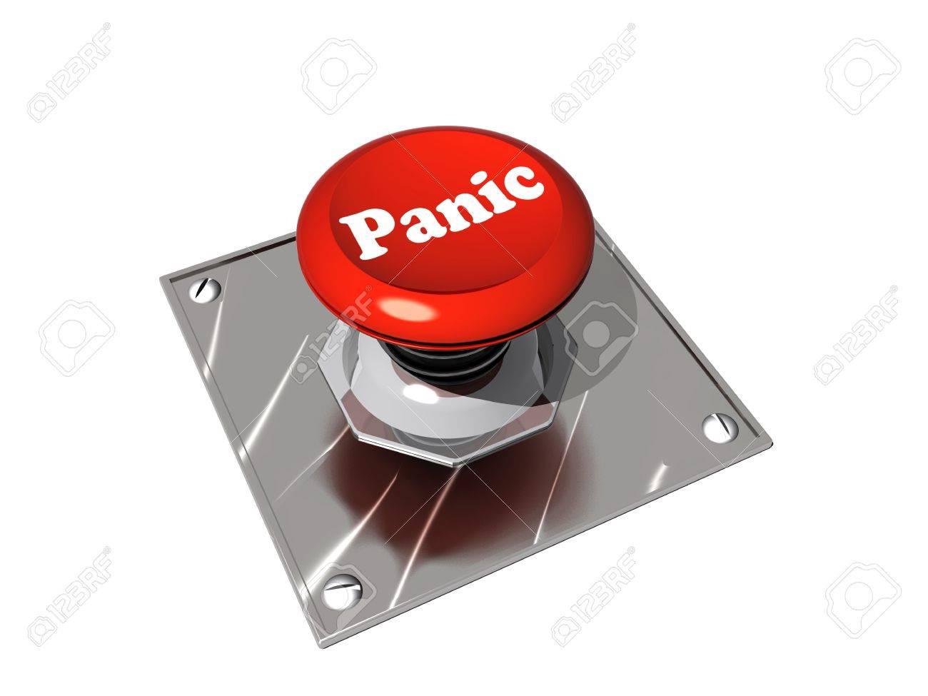 Panic button Stock Photo - 9524351