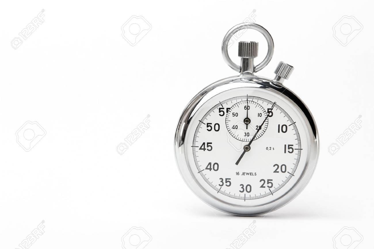 Mechanical russian stopwatch Stock Photo - 9585655