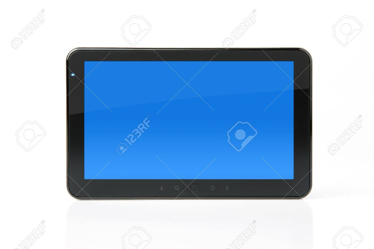 Digital PC tablet with clipping path for the screen Stock Photo - 10621282
