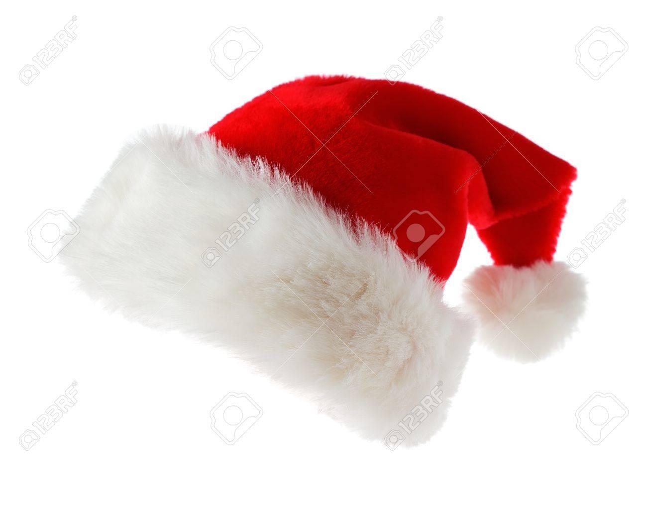 Santa hat isolated on white background - 11326207