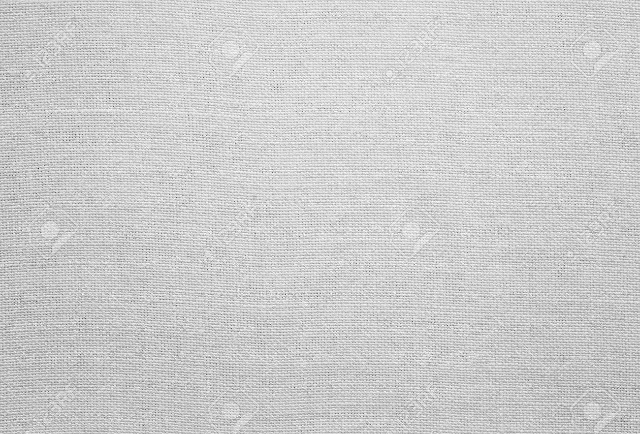 White linen texture, background with copy space Standard-Bild - 35852748