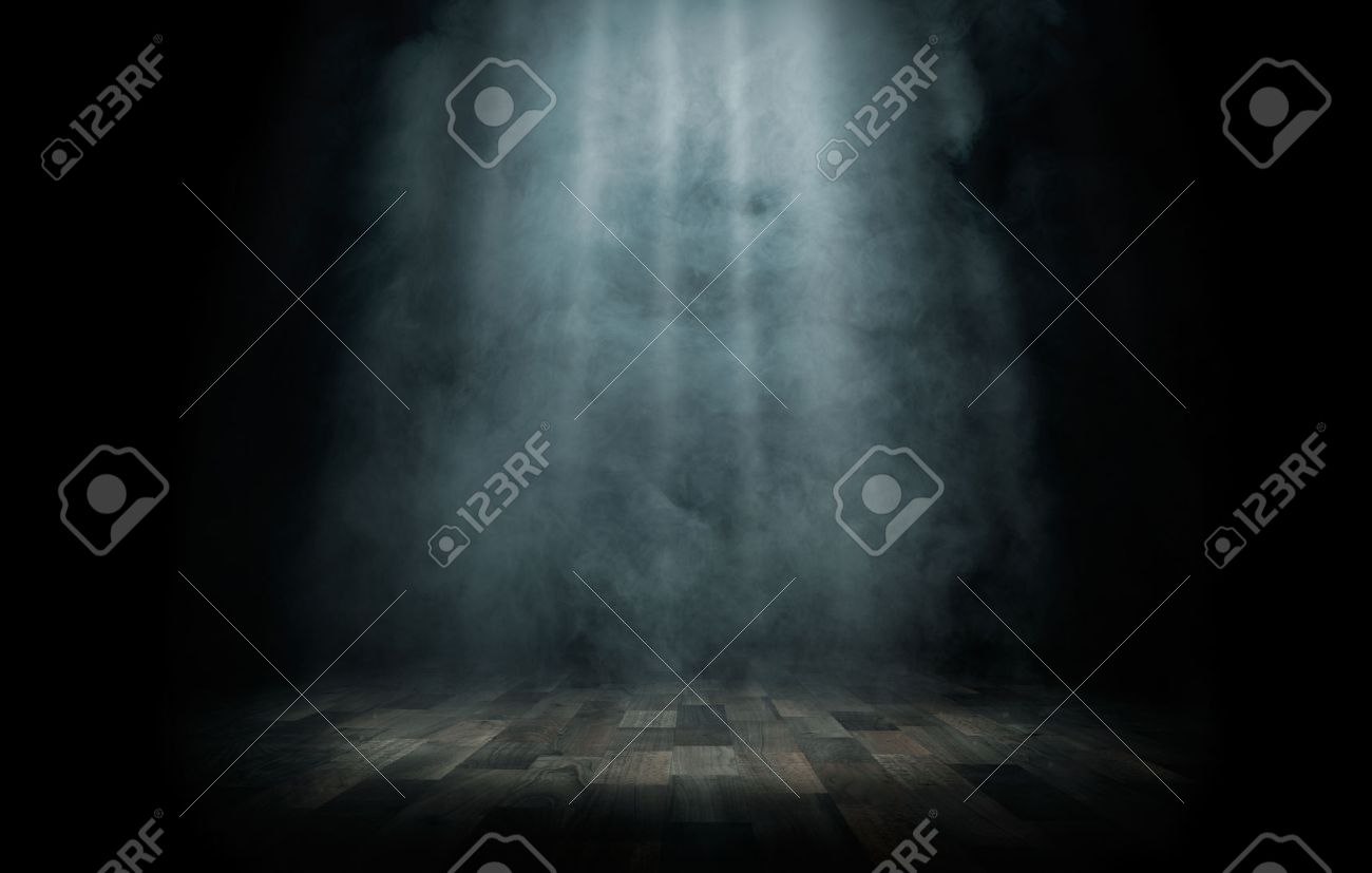 Close up of light beam at the empty stage with copy space - 36872053