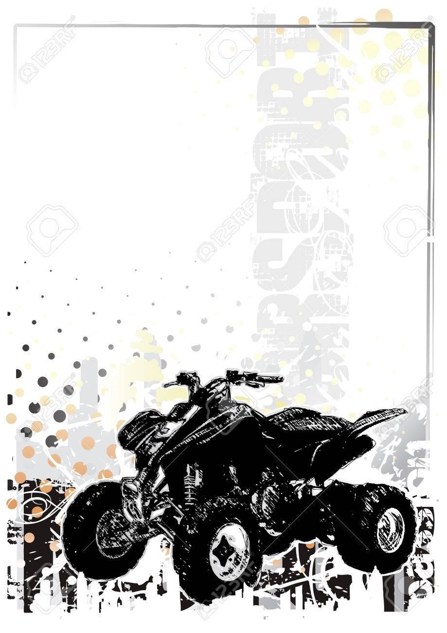 motorsport  background 3 Stock Vector - 6725268