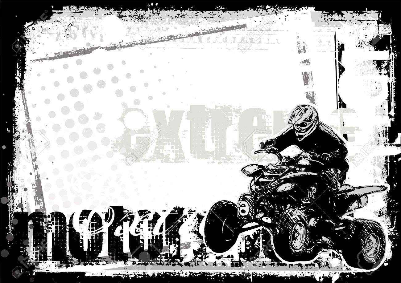 motor sport Stock Vector - 7712635