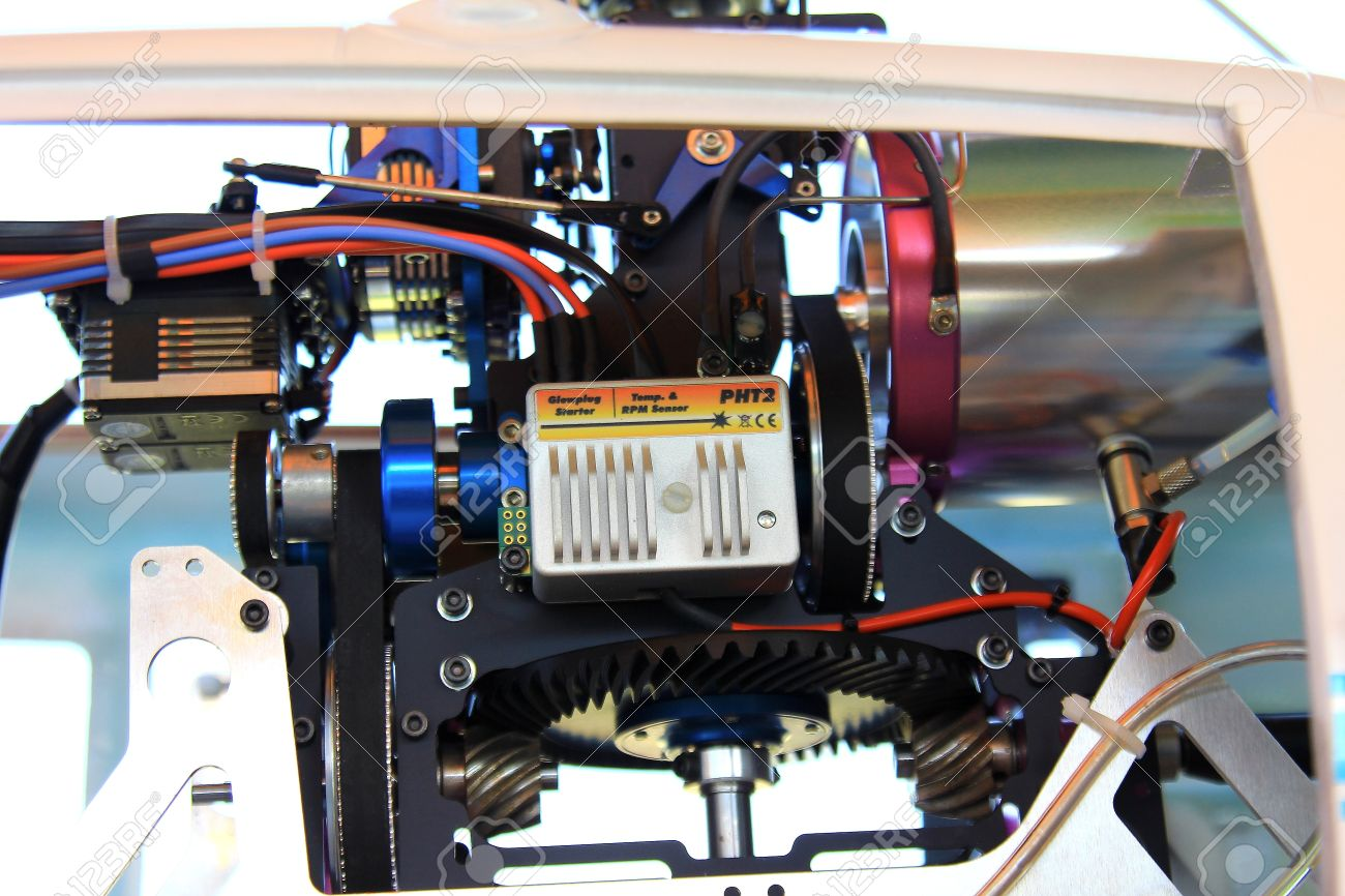 RC Helicopter Jet engine