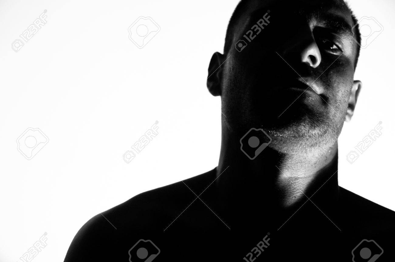 High contrast portrait stock photo 1614654