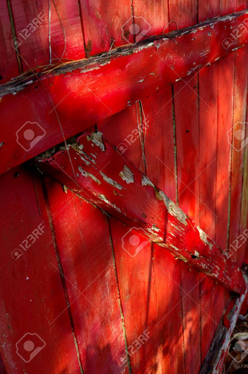 Red Barn Door Stock Photo Picture And Royalty Free Image Image