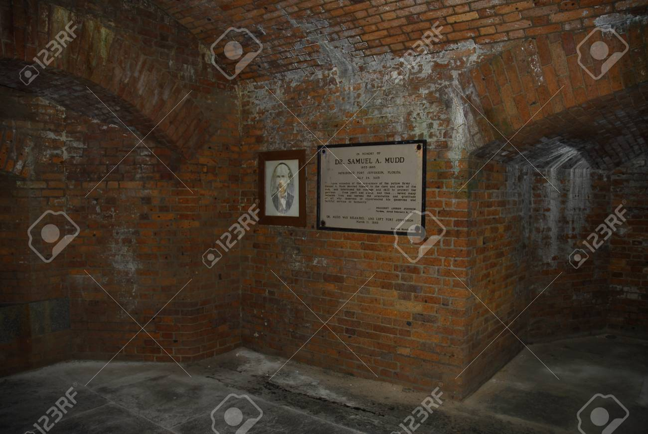 Jail cell of Doctor Mudd involved in Lincoln's assassination