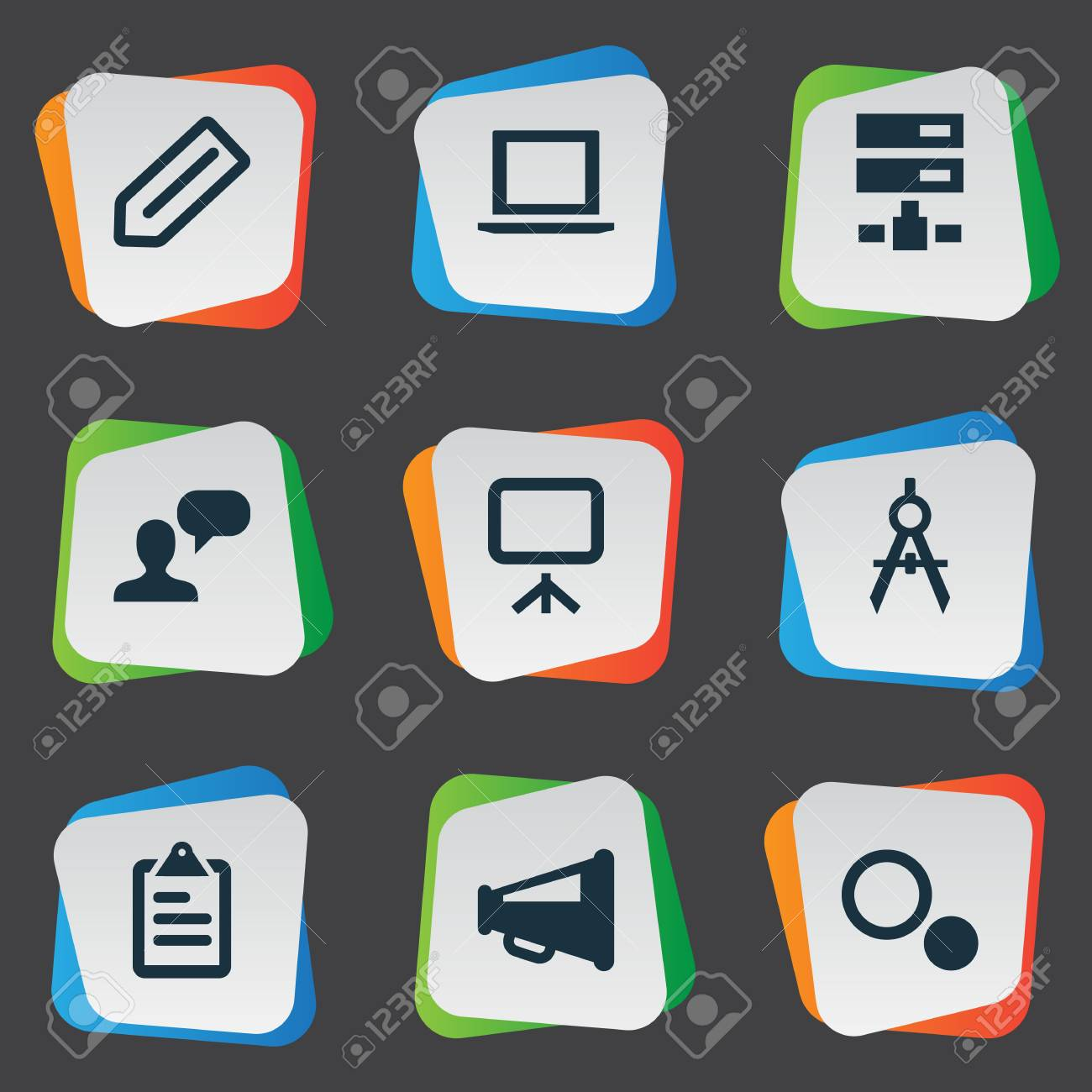 Vector illustration set of simple web icons elements laptop vector vector illustration set of simple web icons elements laptop board blueprint and other synonyms badge sharing and opinion malvernweather