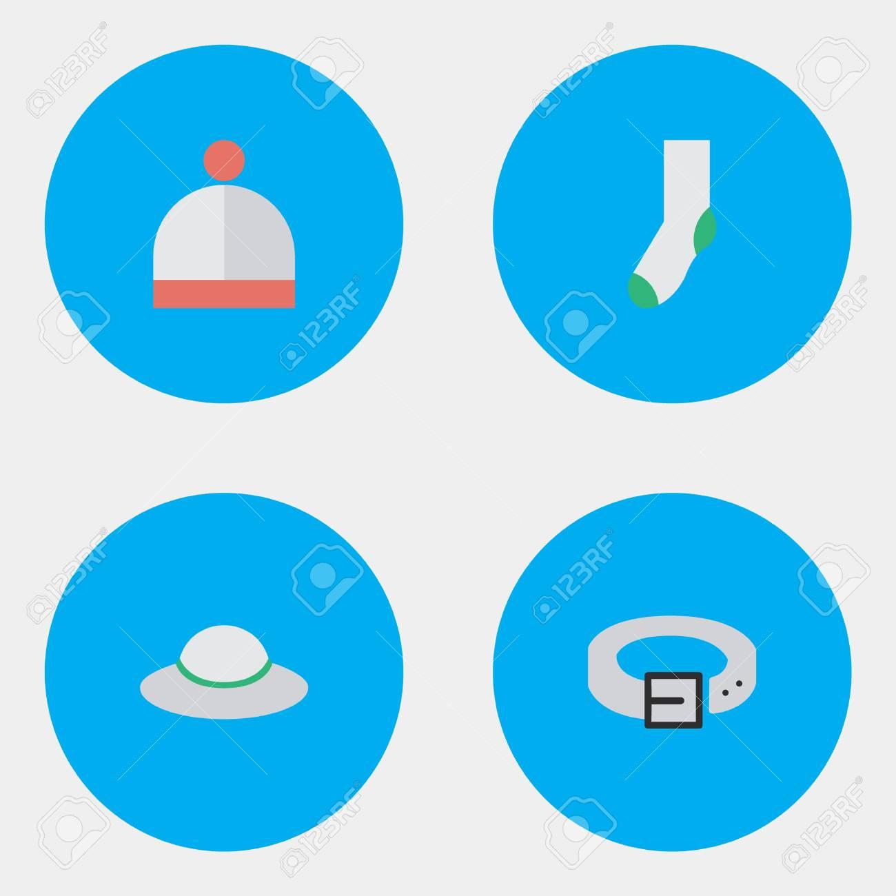 664555f96d151 Foto de archivo - Ilustración vectorial Conjunto de iconos de equipos  simples. Elementos de la correa