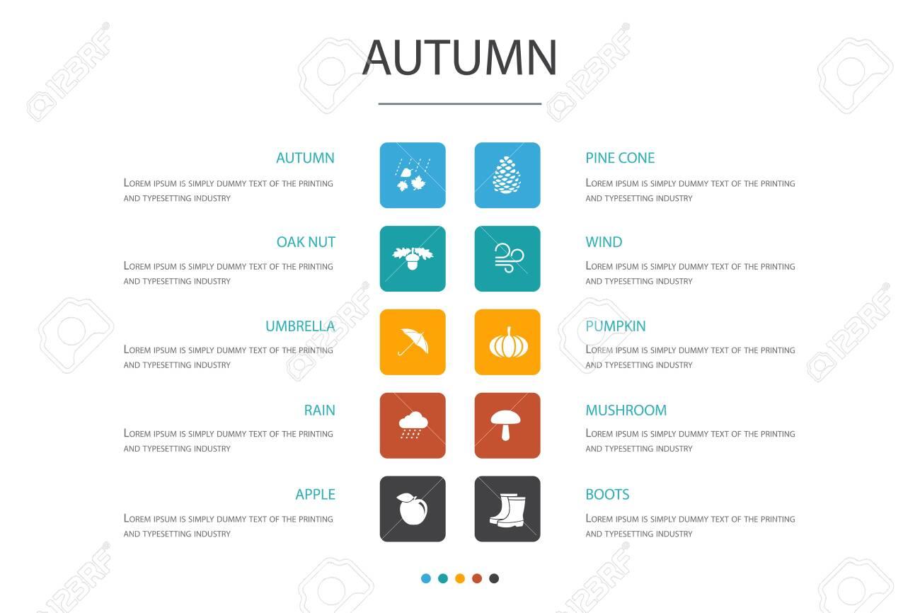 Autumn Infographic 10 option - 151459312