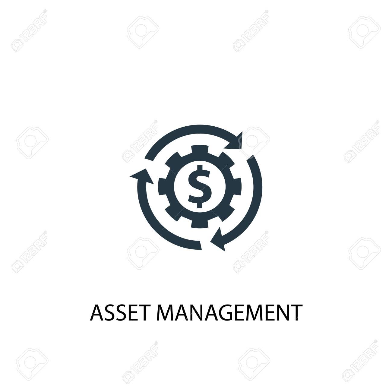 asset management icon. Simple element illustration. asset management concept symbol design. Can be used for web - 133749164