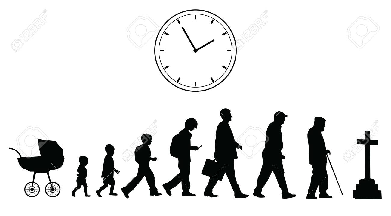 Time passing, vector concept - 140529559