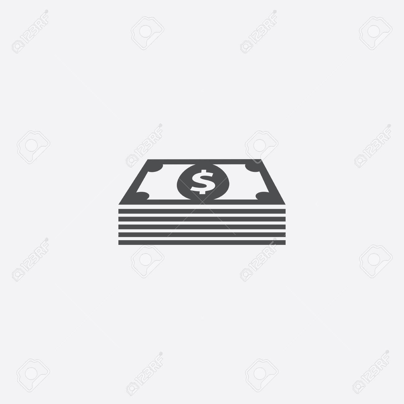 dollar pack icon - 143059671