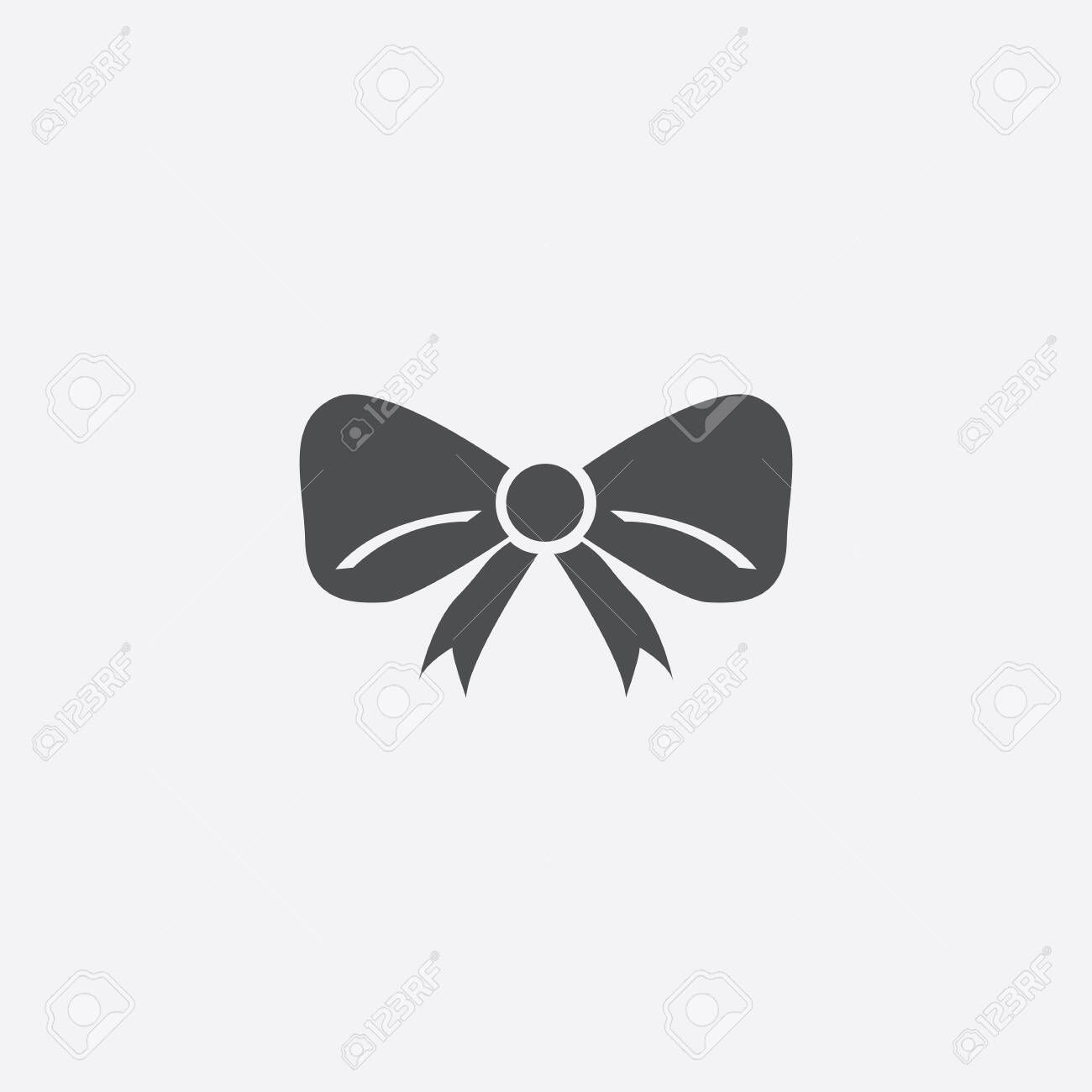 festive bow icon - 143431849