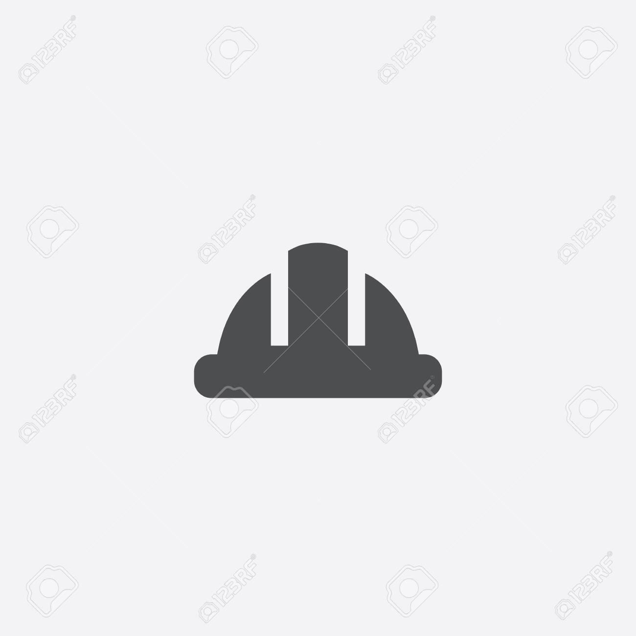 construction helmet icon - 143431863