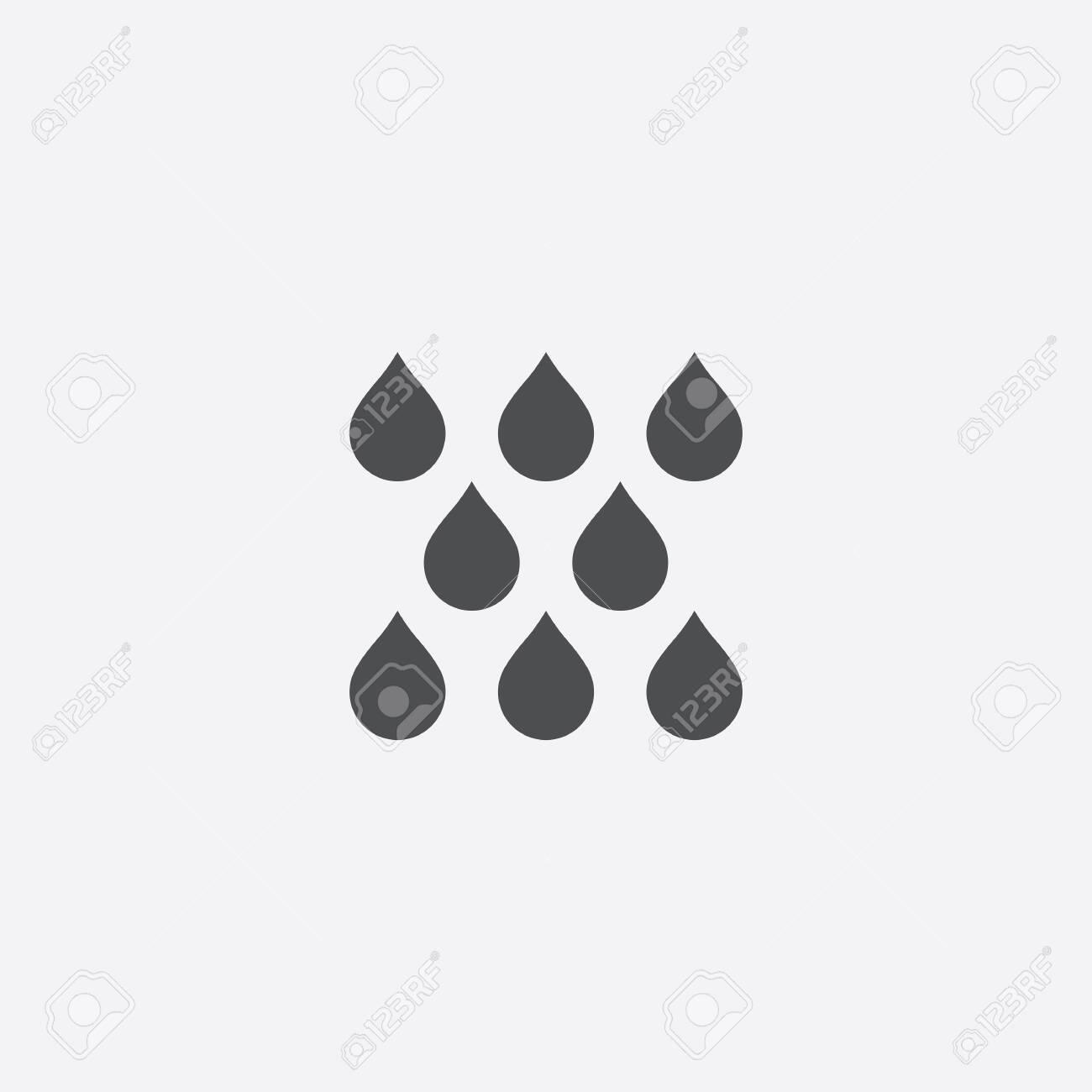 rain icon - 143431875