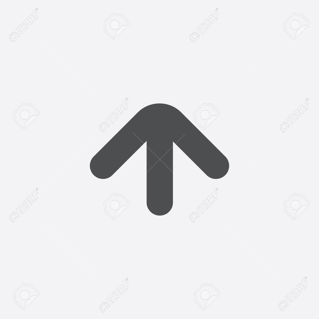 arrow up icon - 143059580