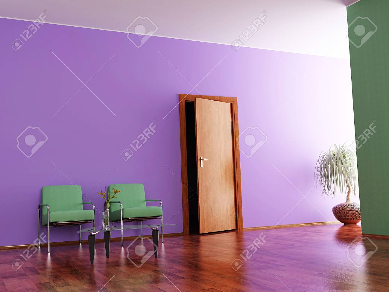 Interior of a hall Stock Photo - 7045372