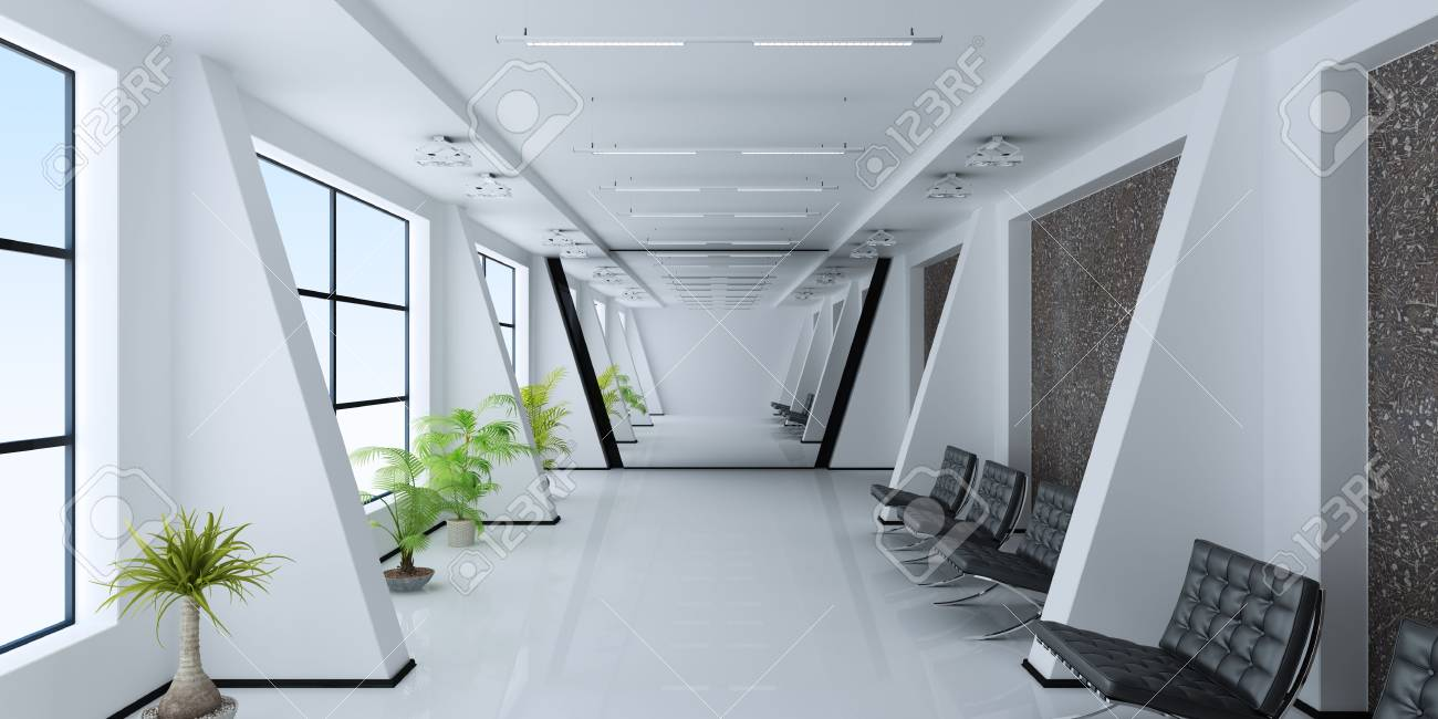 Modern interior of a room Stock Photo - 7621335