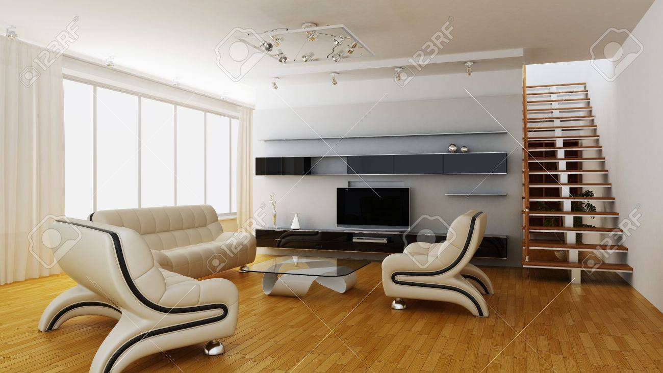 Modern interior of a room Stock Photo - 7690274