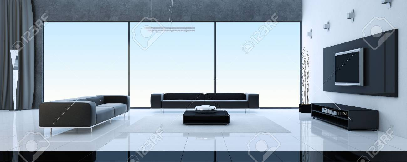 Modern interior of a room Stock Photo - 7690245