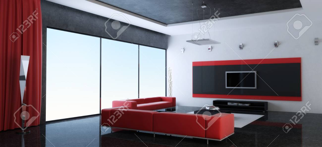 Modern interior of a room Stock Photo - 7690247