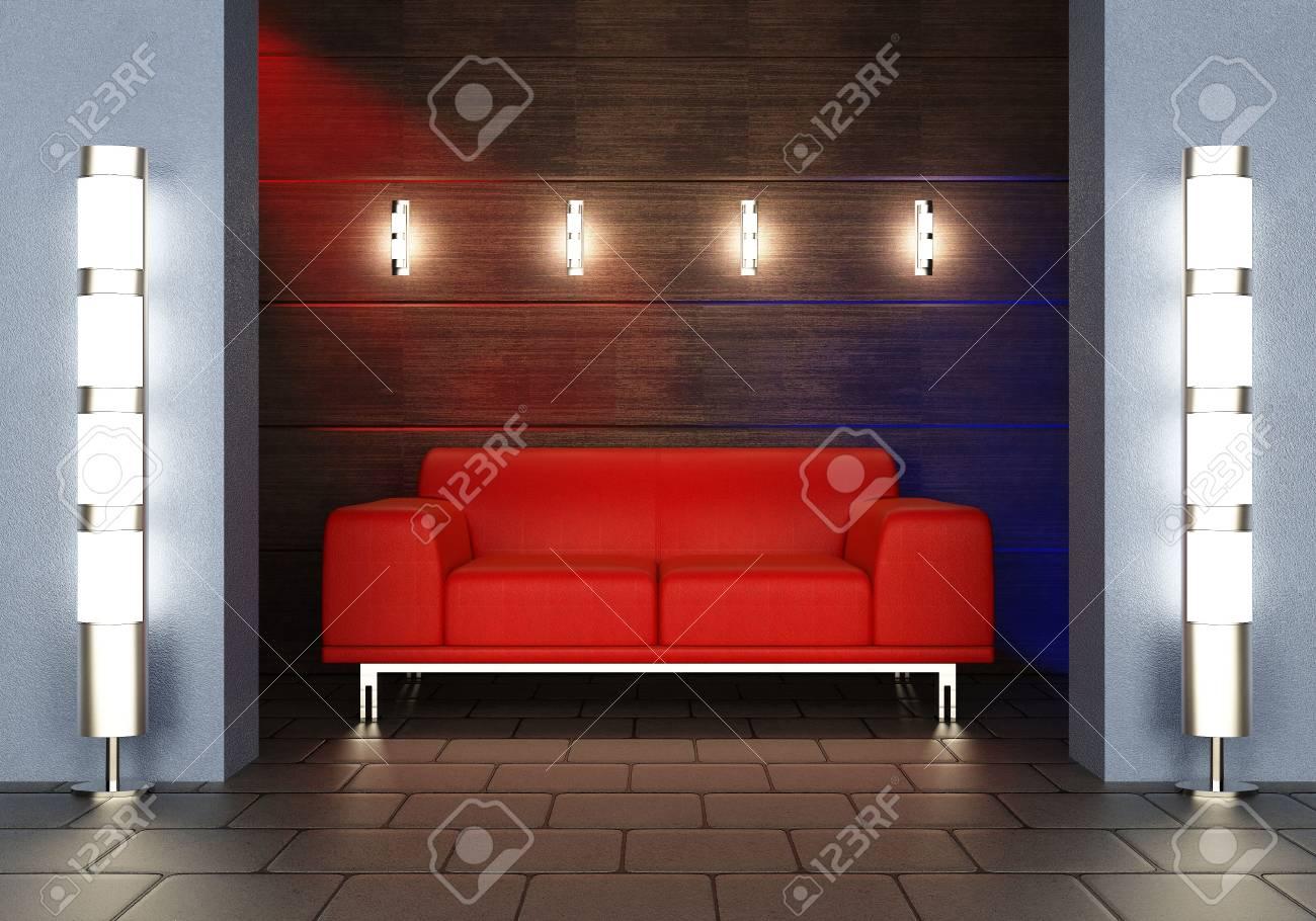 Modern interior Stock Photo - 7756859