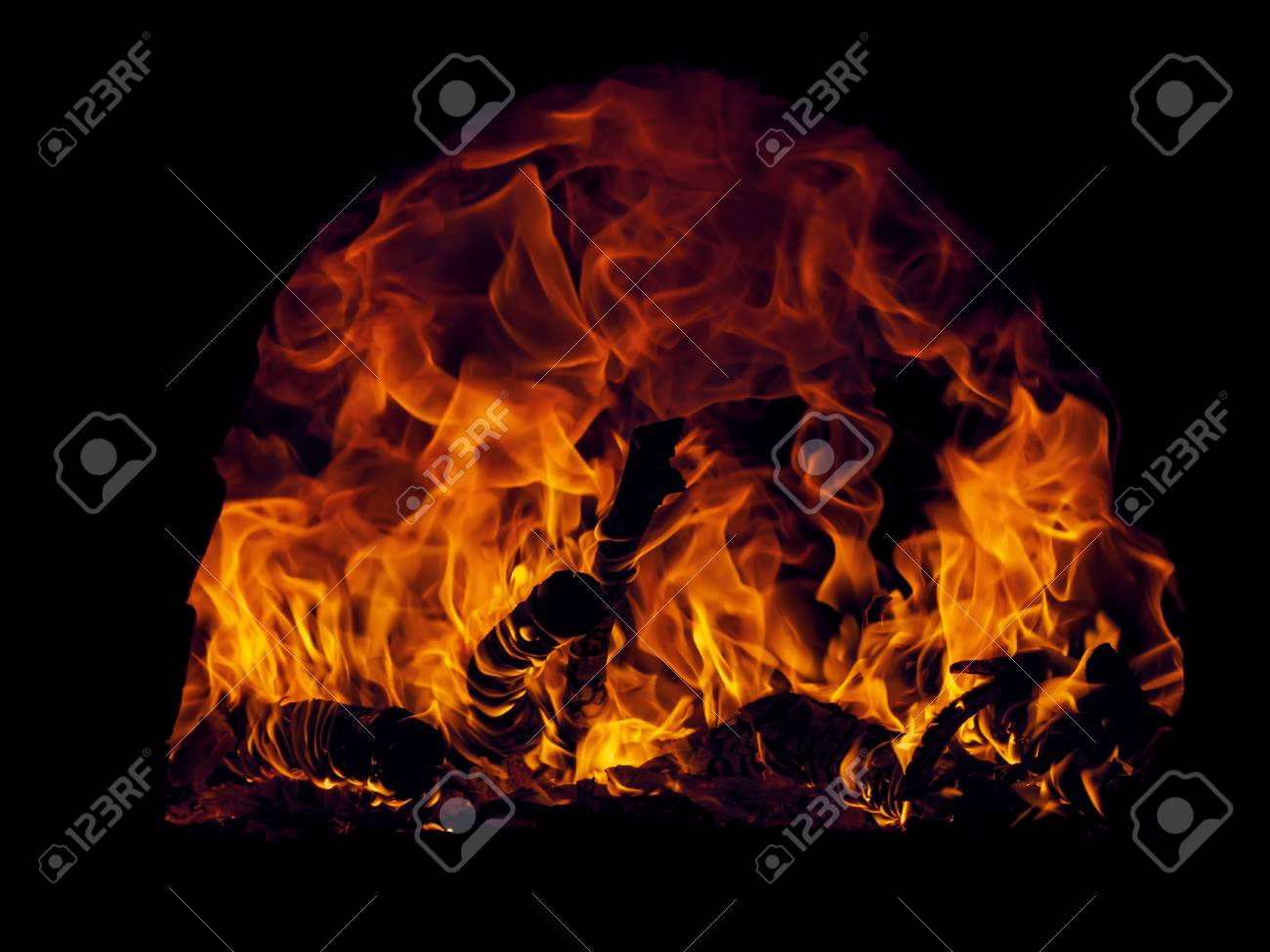 The fire was taken in natural environment. Stock Photo - 20067303