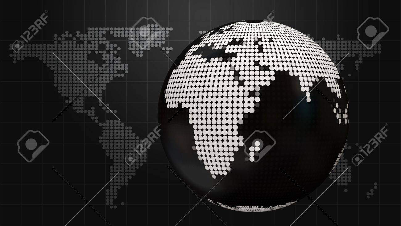 Style dark business background with doted globe and world map style dark business background with doted globe and world map stock photo 20241086 gumiabroncs Gallery