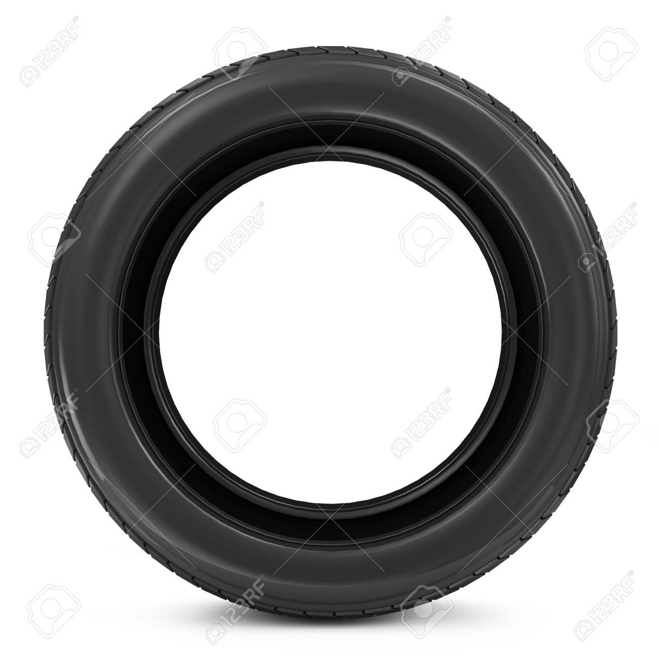 Car Tire isolated on white background Stock Photo - 20241084