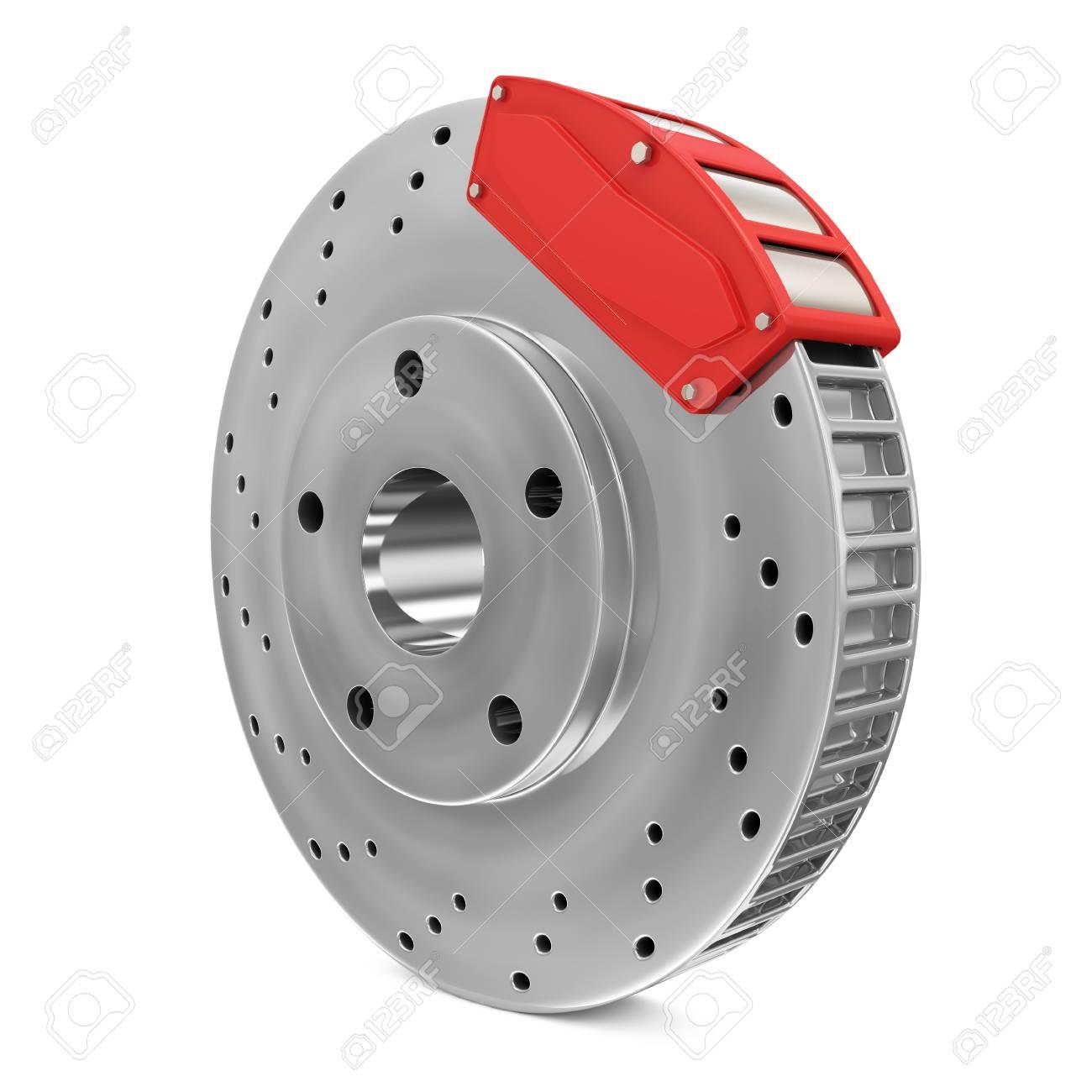 Brake Disc isolated on white background Stock Photo - 20141760